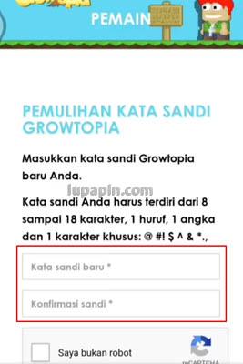 Password Growtopia