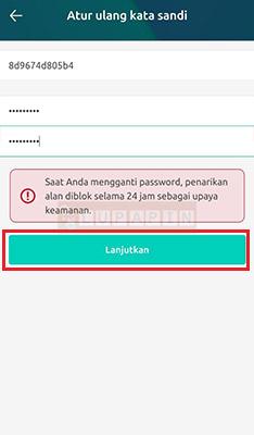 Reset Lupa Password Freewallet