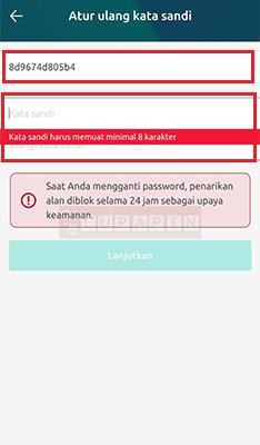 Reset Password Freewallet