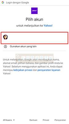 Sign In Rocketmail Lewat Akun Google
