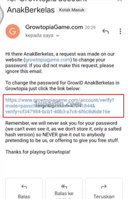growtopia change email