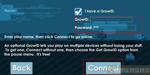 login Growtopia