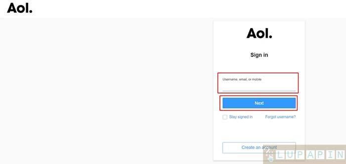 Cara Hapus Akun AOL