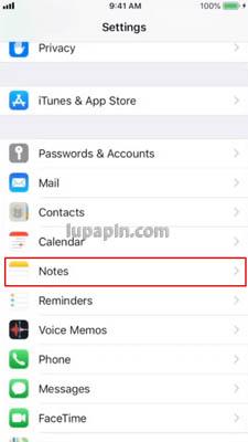 Catatan iPhone