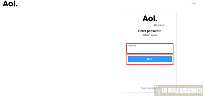 Hapus Akun AOL