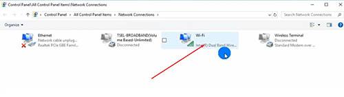 cara melihat password wifi yang sudah terhubung di windows 10