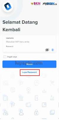 Password My SAPK BKN