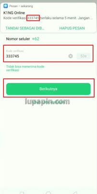 cara Lupa Password Oppo ID