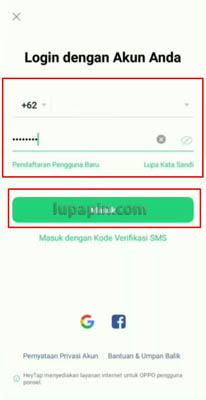 login Oppo ID