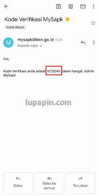 lupa email my sapk bkn