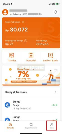Buka Aplikasi SeaBank 2