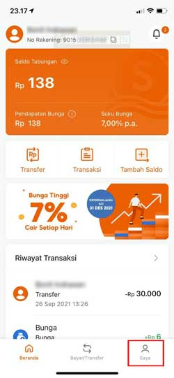 Buka Aplikasi SeaBank 3