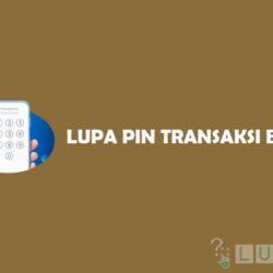 Lupa PIN Transaksi BLU BCA