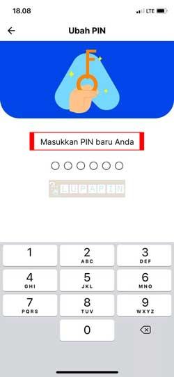 Masukkan PIN Baru 3