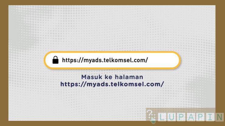 Akses Website Telkomsel MyAds