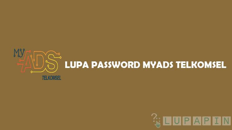 Lupa Password MyAds Telkomsel